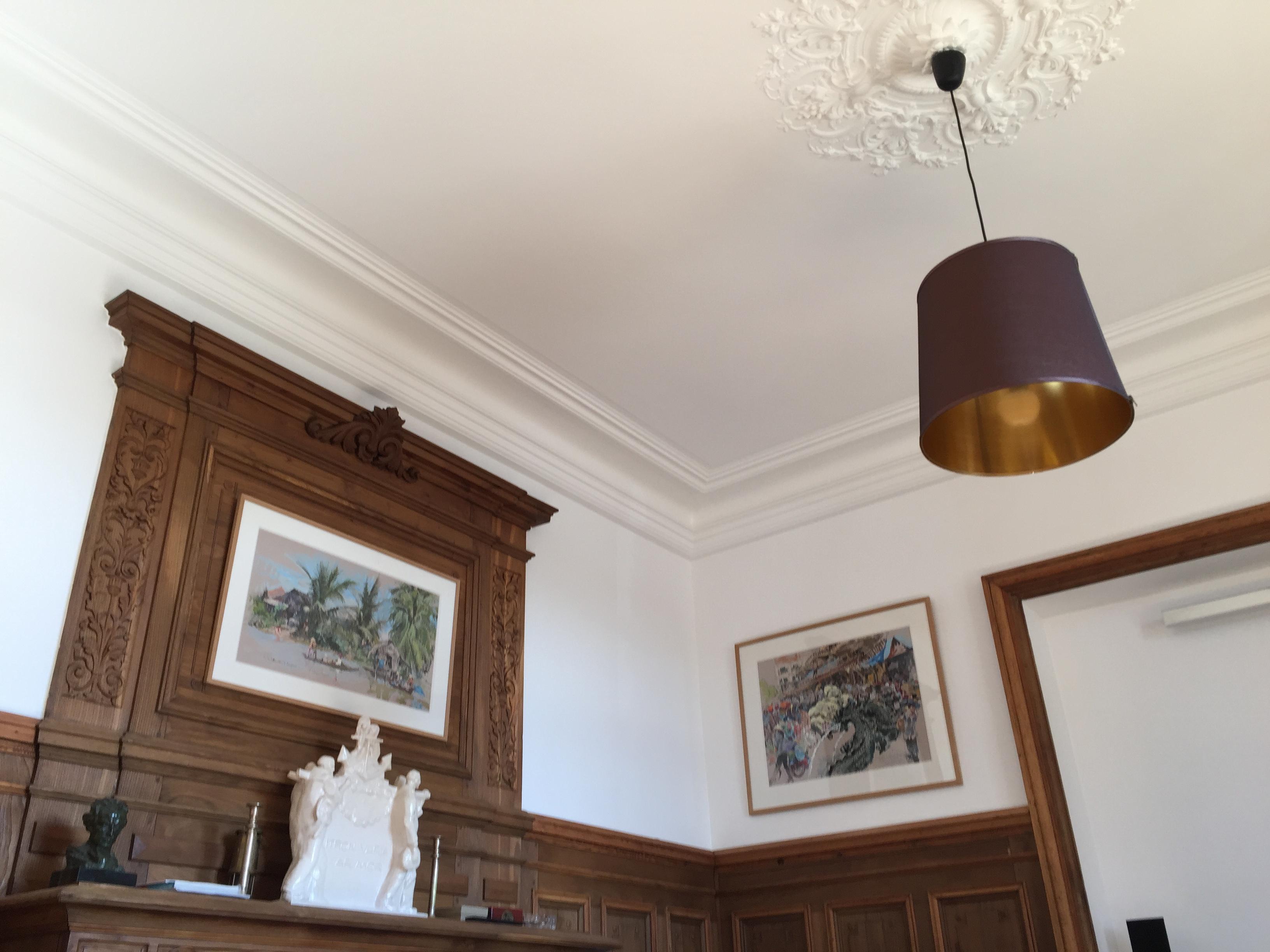 renovation plafond toile de verre revtement de rnovation. Black Bedroom Furniture Sets. Home Design Ideas