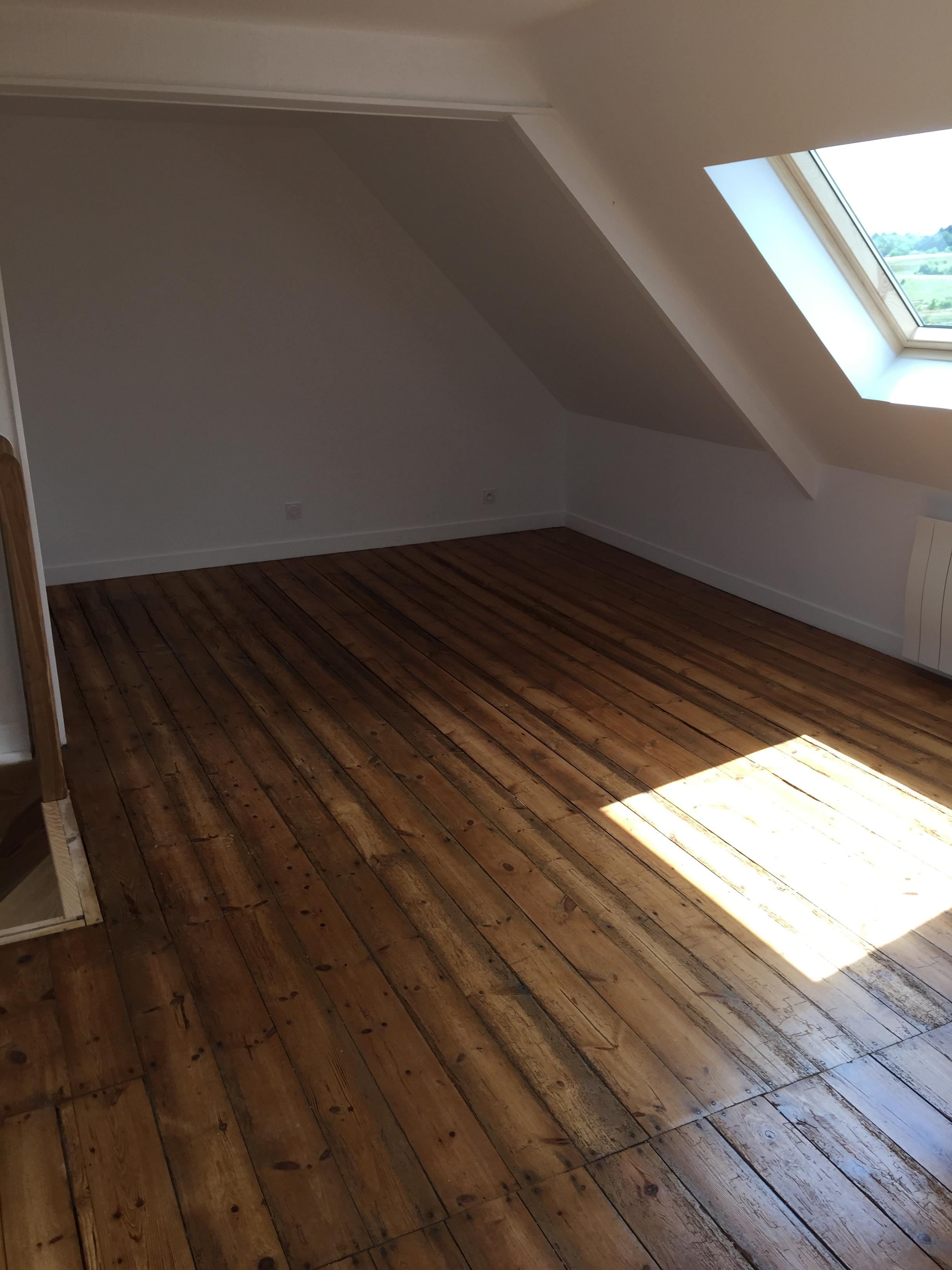 Vitrificateur Escalier Apres Peinture rénovation d'une maison - saint-brieuc